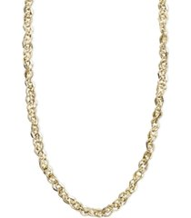 "italian gold 14k gold necklace, 16"" perfectina chain necklace (1-1/8mm)"