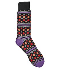 jos. a. bank comfort luxe dotted socks, 1-pair clearance