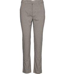 marika trousers byxa med raka ben brun twist & tango