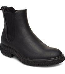 crepetray hybrid m shoes chelsea boots svart ecco