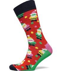 1-pack santa socks gift set underwear socks regular socks multi/mönstrad happy socks