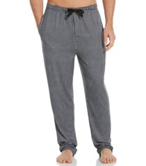 perry ellis portfolio men's gingham check knit pajama pants