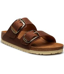 arizona big buckle shoes summer shoes flat sandals brun birkenstock