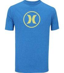 Camisetas - Hurley - Silk - Azul - 10 produtos com até 50.0% OFF ... 6fd0a403889