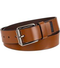 calvin klein men's roller buckle belt