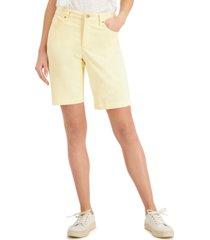 charter club denim shorts, created for macy's