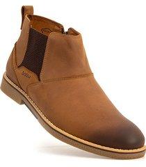 botas sollu desert boot castor-caoba-caoba
