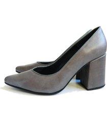 zapato gris battaglia laguna parís stiletto