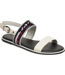 tommy sequins flat sandal shoes summer shoes flat sandals vit tommy hilfiger