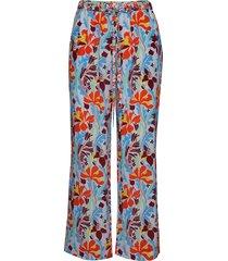 truman, 567 flowers silk wijde broek multi/patroon stine goya