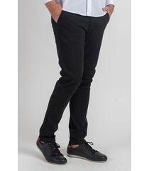 pantalón negro oxford polo club dean