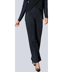 broek alba moda marine::grijs