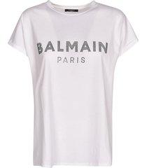 balmain bead logo t-shirt