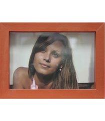 porta retrato caixa color 15x21cm coral