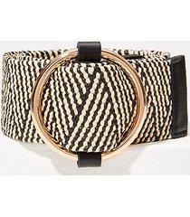 loft straw waist belt