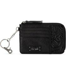 the sak leather iris card wallet