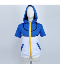 ash ketchum jacket and hat gloves pokemon cosplay costume custom size