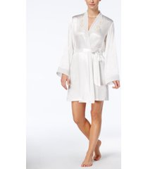 linea donatella midnight short wrap robe