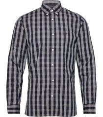multi check shirt overhemd casual blauw tommy hilfiger