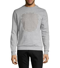 graphic cotton-blend sweatshirt