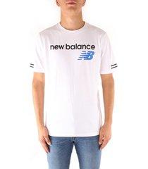 t-shirt korte mouw new balance mt91531vct