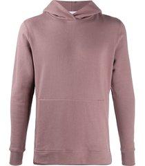 john elliott panelled hoodie - purple