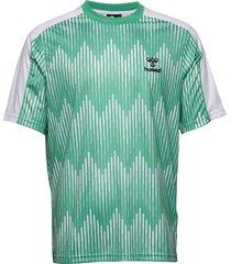 hmlblaze t-shirt s/s t-shirts short-sleeved grön hummel