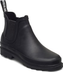 rain boots - low with elastic shoes boots ankle boots ankle boot - flat svart angulus