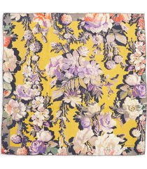 women's dries van noten floral silk scarf