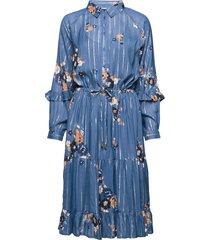adele dr jurk knielengte blauw part two