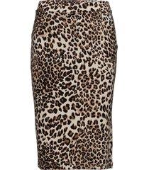 jefri knälång kjol brun baum und pferdgarten