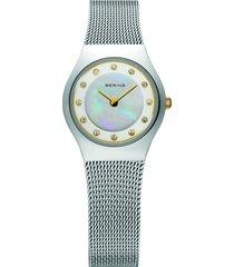 reloj classic plateado bering