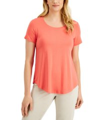 jm collection scoop neck top, created for macy's