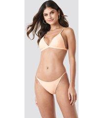na-kd swimwear bikinitrosor med tunna band - orange