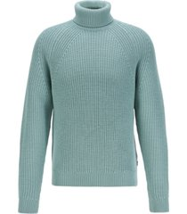 boss men's gilo virgin-wool rollneck sweater