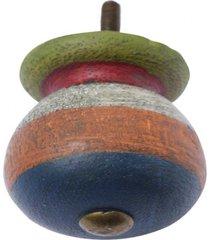 puxador- pashmina- puxador porta madeira- azul - azul - dafiti