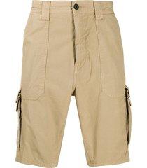 boss multi-pocket shorts - neutrals