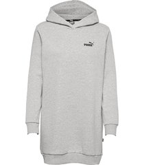 ess hooded dress fl dresses everyday dresses grå puma