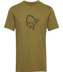 /29 cotton viking t-shirt m's t-shirts short-sleeved grön norrøna