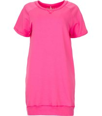 sweater jurk queens  roze