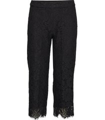 trousers casual broek zwart rosemunde