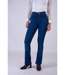 jean azul sochic oxford flared fit
