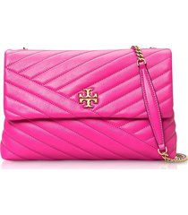 tory burch crazy pink kira chevron convertible shoulder bag
