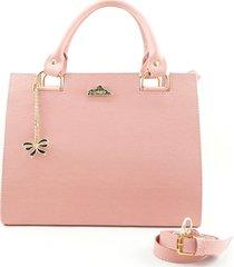 bolsa tiracolo bergally transversal rosa