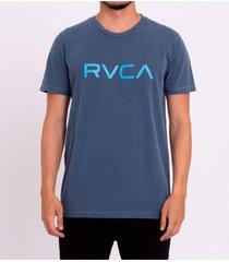 camiseta rvca big wash masculina r471a0089 azul - azul - masculino - dafiti