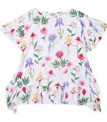 monnalisa monnalisa floral blouse