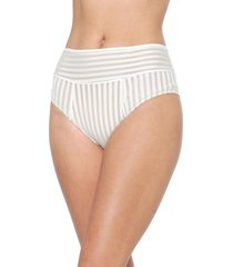 calcinha valisere hot pant tela off-white