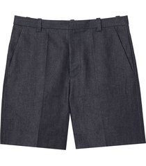 marc jacobs tailored bermuda shorts - blue