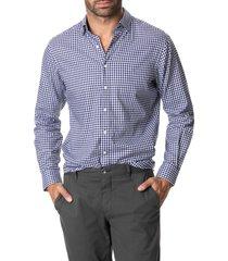 men's rodd & gunn glenlea check button-up shirt