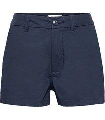 essential chino shorts shorts blå tommy hilfiger